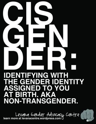 Cisgender Definition (8.5 x 11)