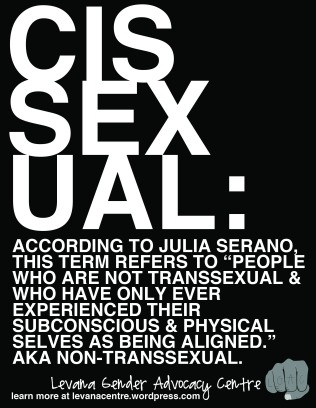 Cissexual Definition (8.5 x 11)