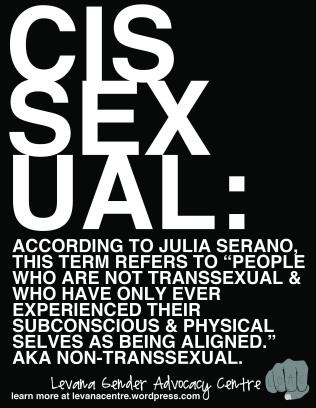 Cissexual Definition (8.5 x 11)