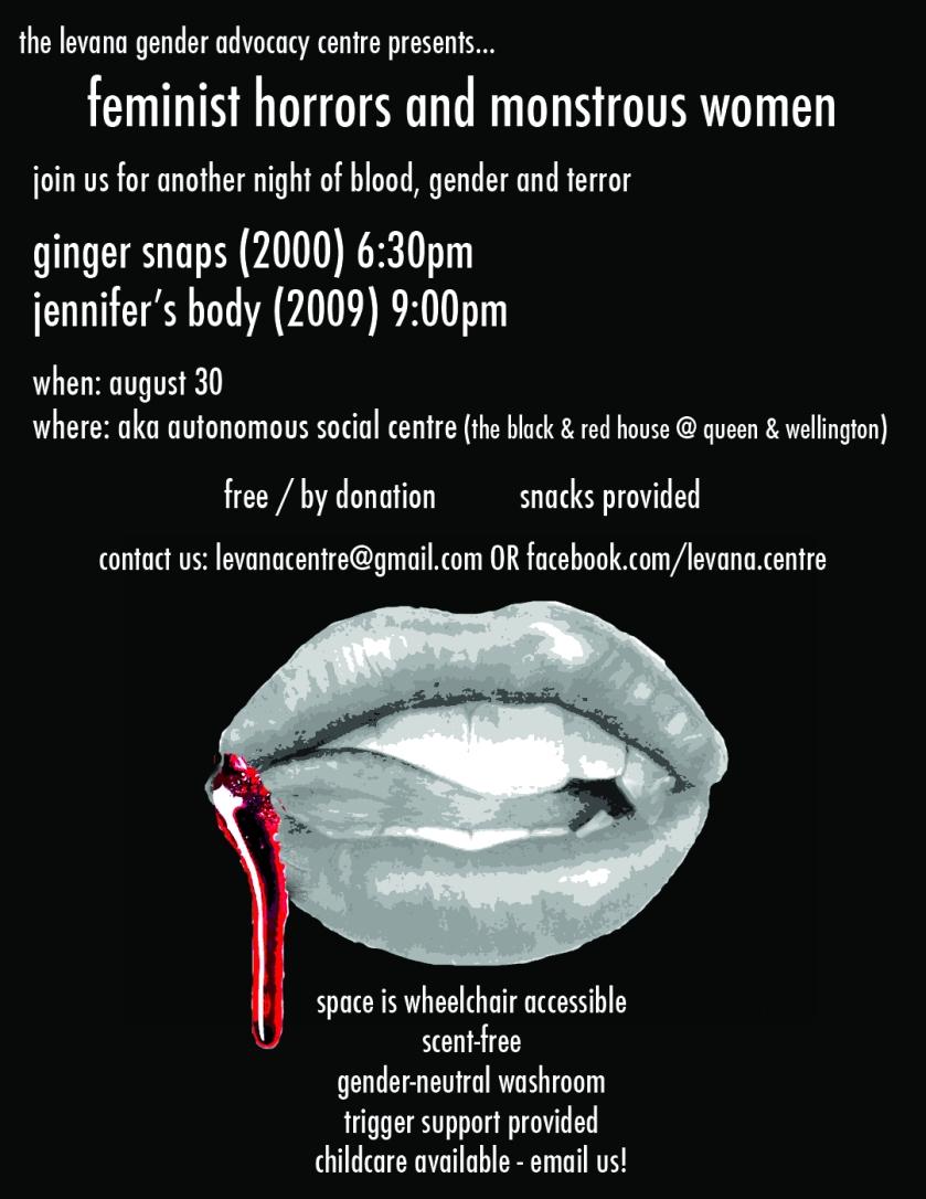 (more) feminist horrors & monstrous women