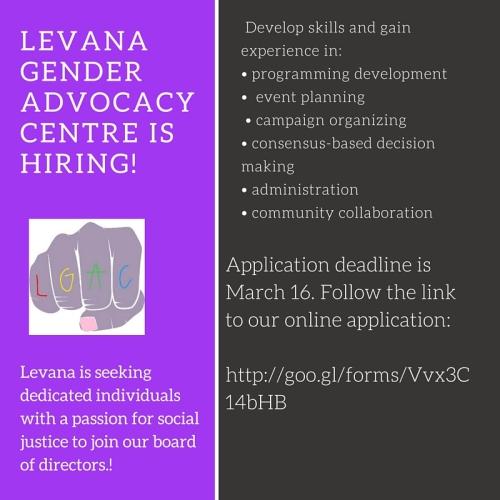 Levana GEnder AdvocacY